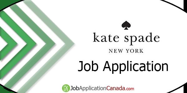 Kate Spade Job Application