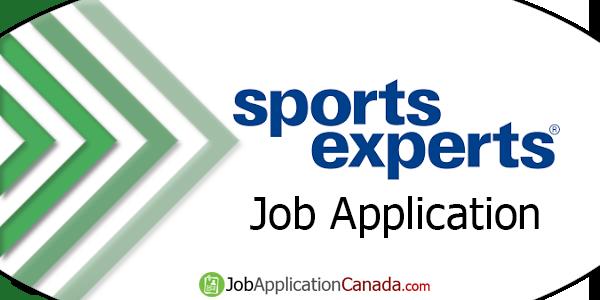 Sports Experts Job Application