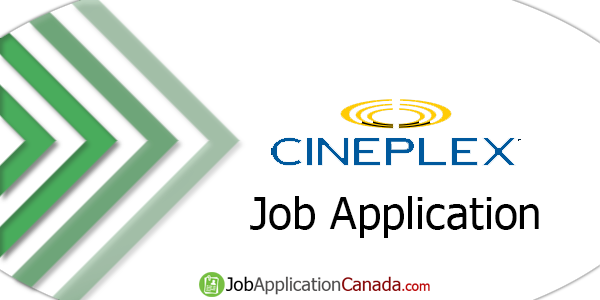 Cineplex Job Application