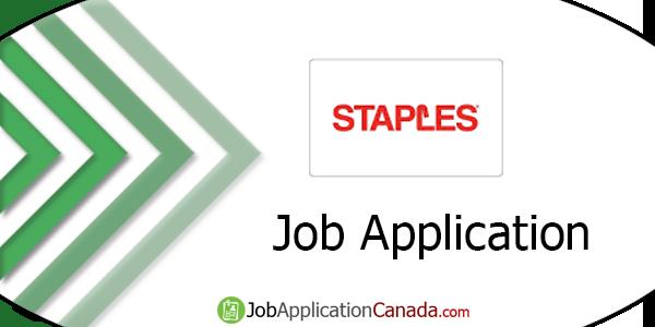 Staples Job Application