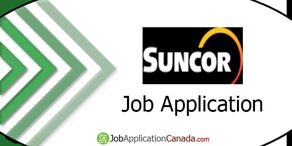 Suncor Job Application