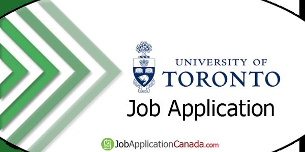 University of Toronto Job Application