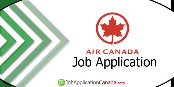 Air Canada Job Application