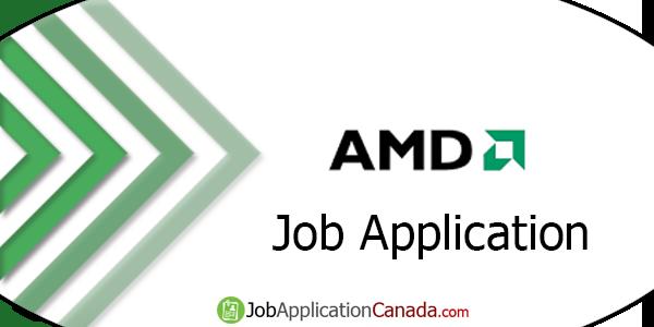 AMD Job Application