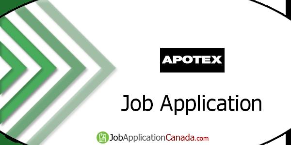 Apotex Job Application