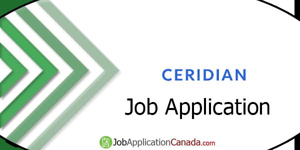 Ceridian Job Application