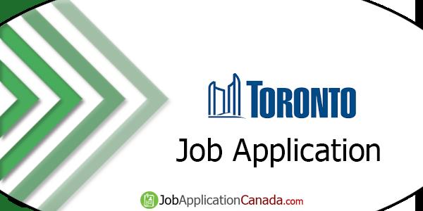 City of Toronto Job Application