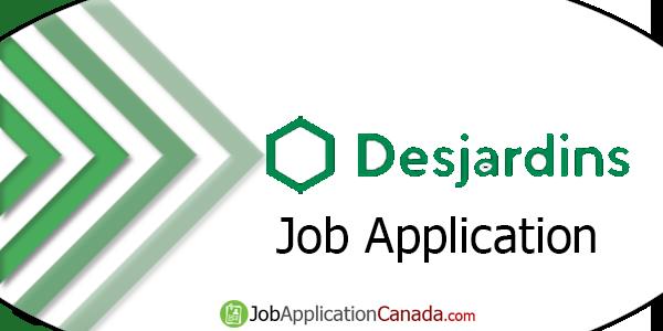 Desjardins Job Application