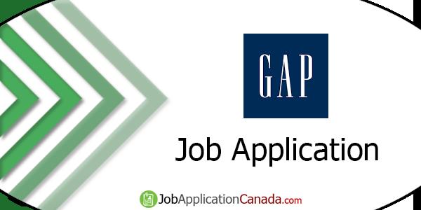Gap Job Application