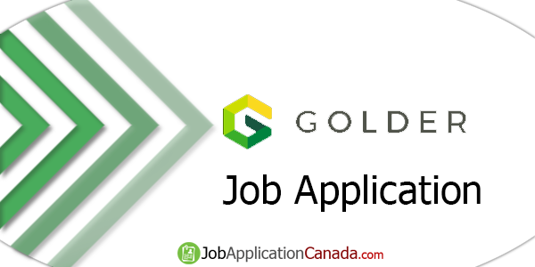 Golder Associates Job Application