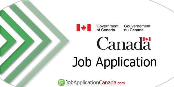 Government of Canada Job Application