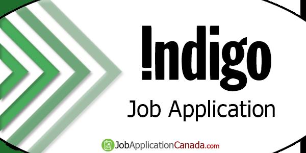Indigo Books & Music Job Application