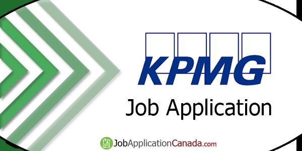 KPMG Job Application