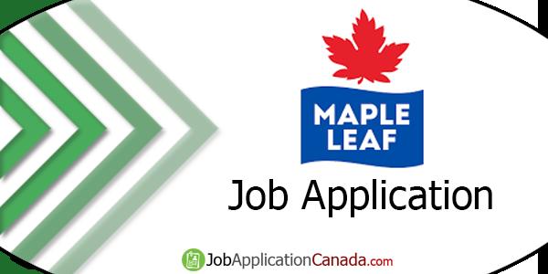 Maple Leaf Foods Job Application