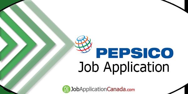 PepsiCo Job Application