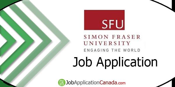 Simon Fraser University Job Application