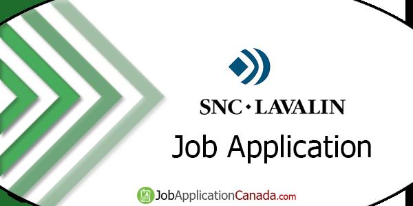 SNC-Lavalin Job Application