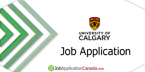 University of Calgary Job Application
