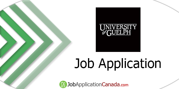 University of Guelph Job Application