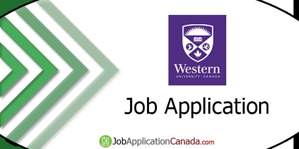 University of Western Ontario Job Application
