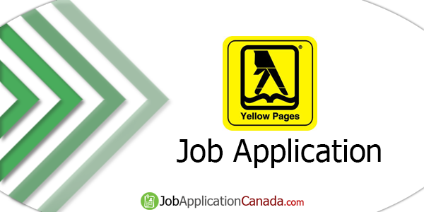 Yellow Pages Job Application