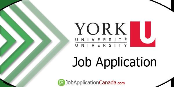 York University Job Application