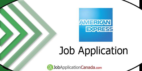 American Express Job Application