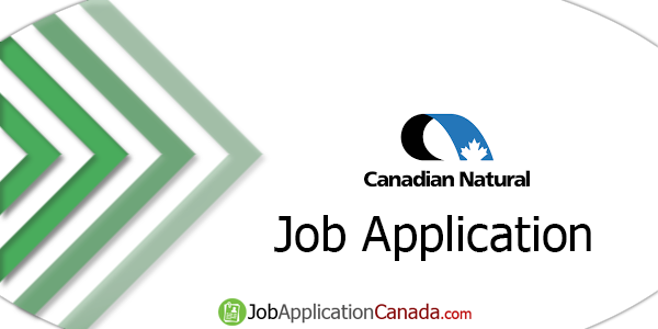 Canadian Natural Resources Job Application