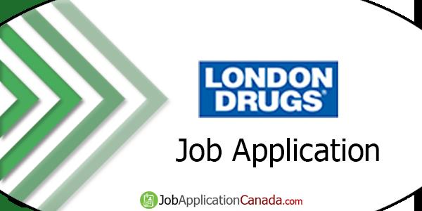 London Drugs Job Application
