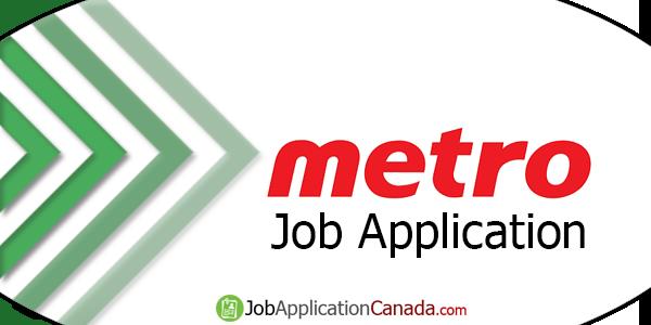 Metro Job Application