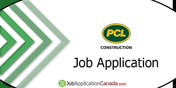 PCL Construction Job Application
